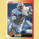 1991 Score Football #441 Jim Skow - Tampa Bay Buccaneers