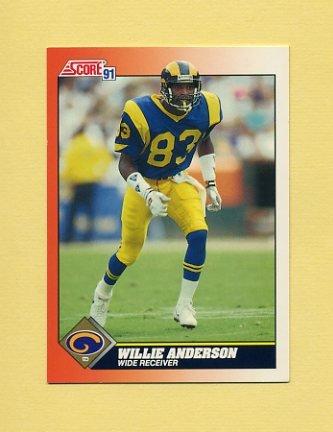 1991 Score Football #425 Flipper Anderson - Los Angeles Rams