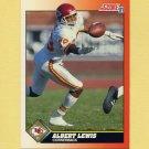 1991 Score Football #352 Albert Lewis - Kansas City Chiefs