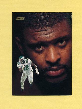 1991 Score Football #344 Reggie White DT - Philadelphia Eagles