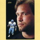 1991 Score Football #341 Chris Spielman DT - Detroit Lions