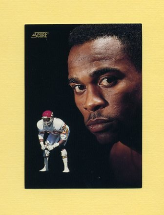 1991 Score Football #337 Albert Lewis DT - Kansas City Chiefs