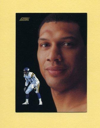 1991 Score Football #336 Joey Browner DT - Minnesota Vikings