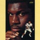 1991 Score Football #335 David Fulcher DT - Cincinnati Bengals
