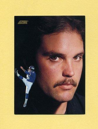 1991 Score Football #334 Sean Landeta DT - New York Giants