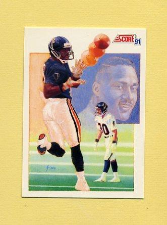 1991 Score Football #329 Andre Rison - Atlanta Falcons