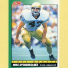 1991 Score Football #319 Mike Stonebreaker - Chicago Bears