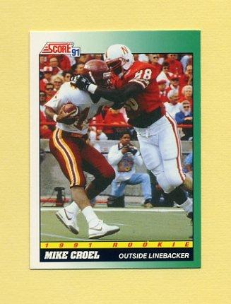 1991 Score Football #315 Mike Croel RC - Denver Broncos