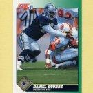 1991 Score Football #287 Daniel Stubbs - Dallas Cowboys