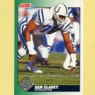 1991 Score Football #262 Sam Clancy - Indianapolis Colts