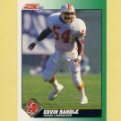 1991 Score Football #254 Ervin Randle - Tampa Bay Buccaneers