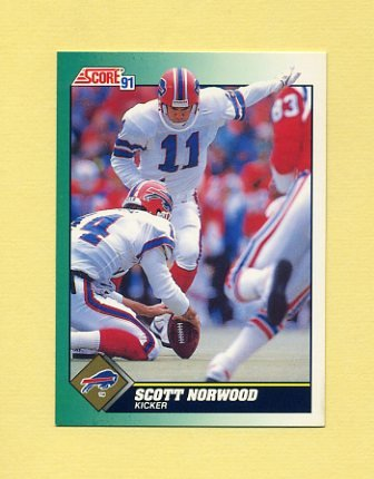 1991 Score Football #251 Scott Norwood - Buffalo Bills