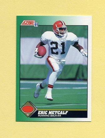 1991 Score Football #245 Eric Metcalf - Cleveland Browns