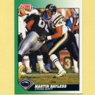 1991 Score Football #244 Martin Bayless - San Diego Chargers