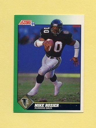 1991 Score Football #224 Mike Rozier - Atlanta Falcons