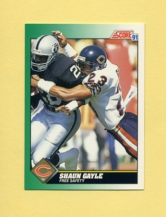 1991 Score Football #223 Shaun Gayle - Chicago Bears