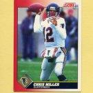 1991 Score Football #219 Chris Miller - Atlanta Falcons