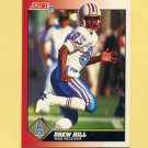 1991 Score Football #215 Drew Hill - Houston Oilers