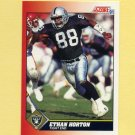 1991 Score Football #212 Ethan Horton - Los Angeles Raiders