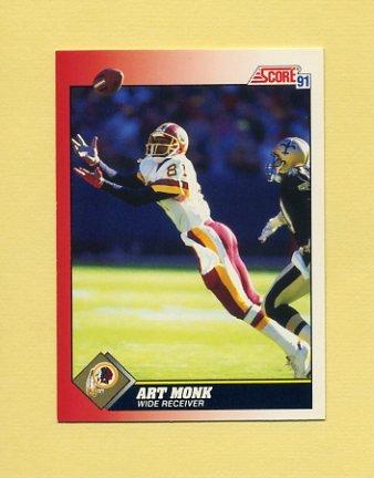 1991 Score Football #181 Art Monk - Washington Redskins