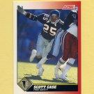 1991 Score Football #142 Scott Case - Atlanta Falcons