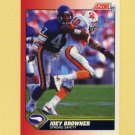 1991 Score Football #135 Joey Browner - Minnesota Vikings