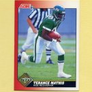 1991 Score Football #114 Terance Mathis - New York Jets