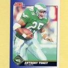 1991 Score Football #096 Anthony Toney - Philadelphia Eagles