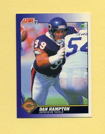 1991 Score Football #089 Dan Hampton - Chicago Bears