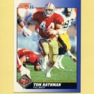 1991 Score Football #088 Tom Rathman - San Francisco 49ers