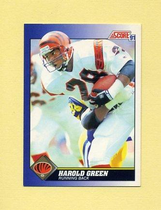 1991 Score Football #040 Harold Green - Cincinnati Bengals