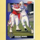 1991 Score Football #038 Eugene Daniel - Indianapolis Colts