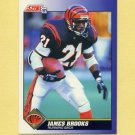1991 Score Football #021 James Brooks - Cincinnati Bengals
