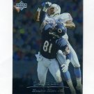 1996 Upper Deck Silver Football #192 Darryll Lewis UER - Houston Oilers
