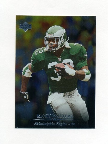 1996 Upper Deck Silver Football #173 Ricky Watters - Philadelphia Eagles