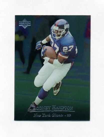 1996 Upper Deck Silver Football #170 Rodney Hampton - New York Giants