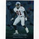 1996 Upper Deck Silver Football #002 Terance Mathis - Atlanta Falcons