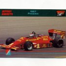 1992 Collect-A-Card Andretti Racing #94 Jeff Andretti's Car