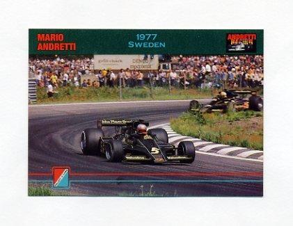 1992 Collect-A-Card Andretti Racing #89 Mario Andretti's Car