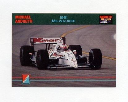 1992 Collect-A-Card Andretti Racing #67 Michael Andretti's Car