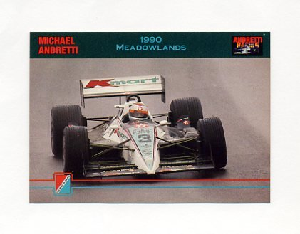 1992 Collect-A-Card Andretti Racing #64 Michael Andretti's Car
