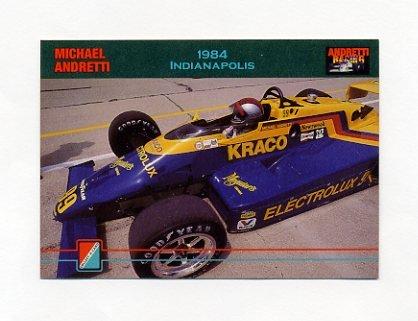 1992 Collect-A-Card Andretti Racing #63 Michael Andretti's Car