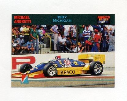 1992 Collect-A-Card Andretti Racing #58 Michael Andretti's Car