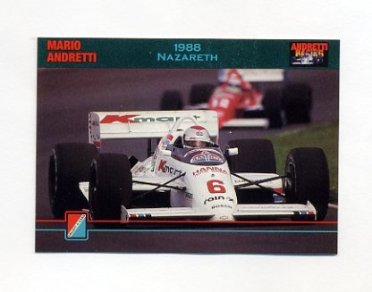 1992 Collect-A-Card Andretti Racing #56 Mario Andretti's Car
