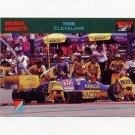 1992 Collect-A-Card Andretti Racing #54 Michael Andretti's Car