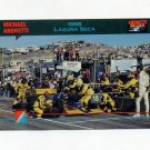 1992 Collect-A-Card Andretti Racing #50 Michael Andretti's Car