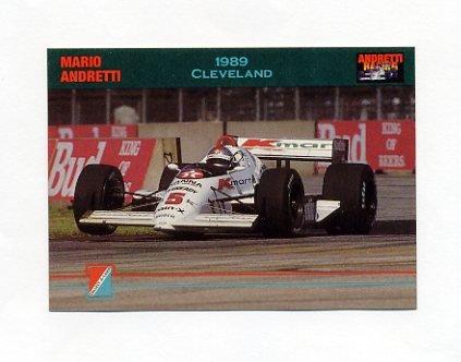 1992 Collect-A-Card Andretti Racing #48 Mario Andretti's Car