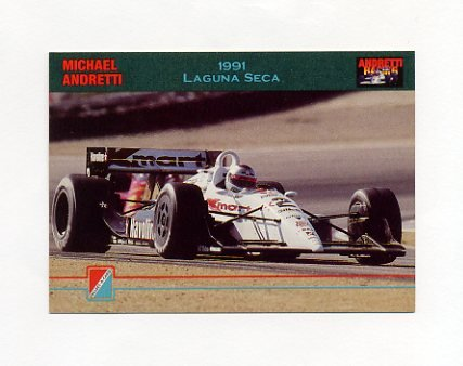 1992 Collect-A-Card Andretti Racing #45 Michael Andretti's Car