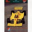 1992 Collect-A-Card Andretti Racing #40 John Andretti's Car