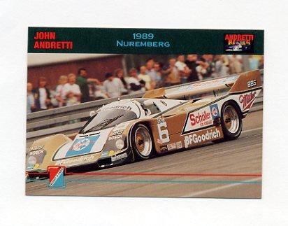1992 Collect-A-Card Andretti Racing #38 John Andretti's Car